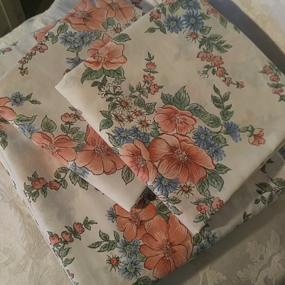 cannon Other - Vintage Cannon Monticello Full Size Top Sheet / pi